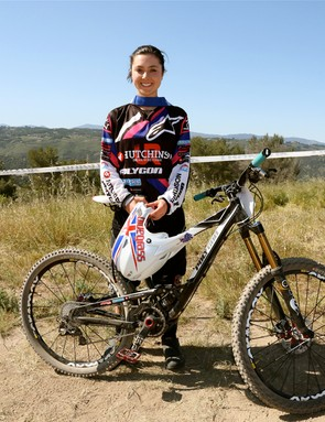 World junior champion, Holly Feniak, Polygon/Hutchinson, 5th