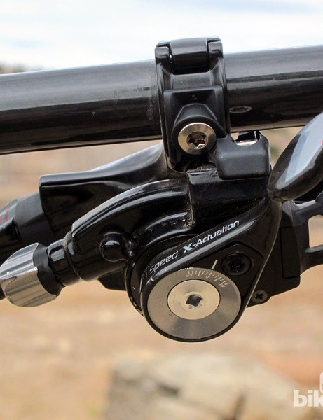 SRAM's trickle-down 1x11 drivetrain technology will likely include an X0-level trigger shifter