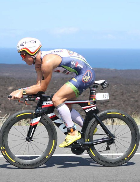 Frederik Van Lierde, who finished third in the Ironman World Championships at Kona last year, gives his view on the Mavic CXR 80s