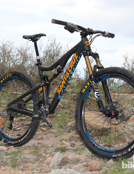 The Santa Cruz Bronson is an all-mountain bike with 650b (27.5in) wheels and 150mm of suspension travel