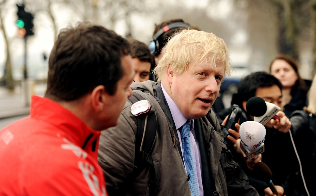 Boris Johnson's £913m Vision for Cycling is facing funding threat
