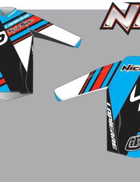Nico Vouilloz' 2014 race kit from Troy Lee Designs