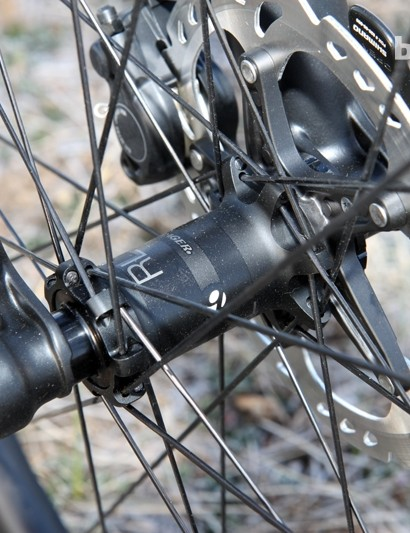 Bontrager uses straight-pull spokes throughout on the Race Lite TLR Disc CL 29 wheelset