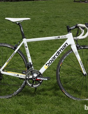 The 2013 Boardman SLR 9.0S, which features an Ultegra Di2 drivetrain