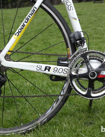 Gearing is Ultegra Di2 for the most part, with an FSA chainset and cranks