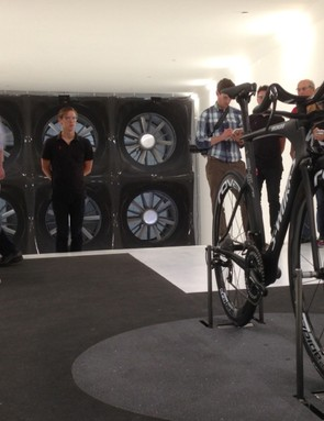 The first public look inside Specialized's own wind tunnel