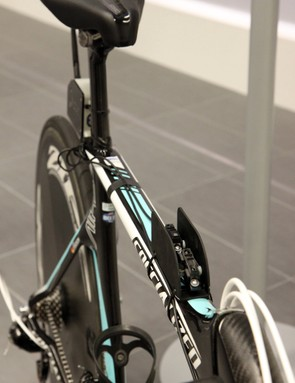 With the on-bike 'data acquisition system', Specialized can compare real-world data to wind tunnel data, and vice versa