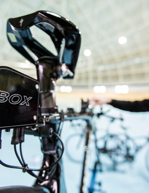 Specialized has been using its 'DAQ' data acquisition box with its pro athletes