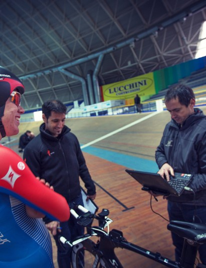 Wind tunnel data is one thing, but pedaling hard at race pace is another. Specialized uses information from both