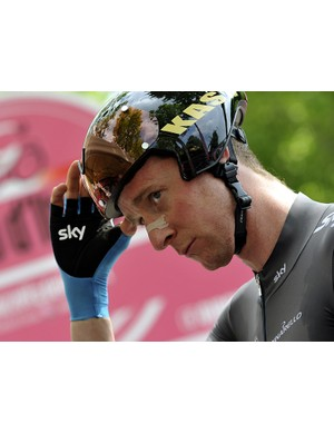 Bradley Wiggins was forced to quit the Giro d'Italia after stage 12 due to illness