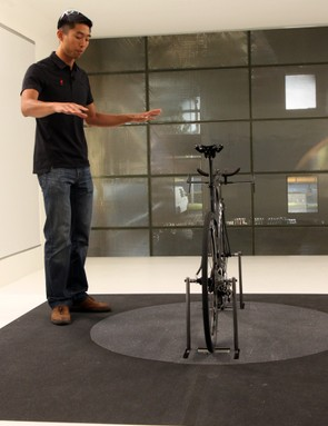 According to Specialized aerodynamicist Chris Yu, the company's new wind tunnel is specifically designed for the lower forces and speeds seen in cycling, unlike most wind tunnels that are optimized for aerospace or automotive applications