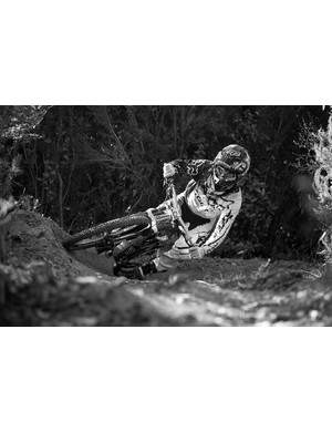 According to Truvativ, current downhill world champion Danny Hart likes to keep his weight a little further back and didn't want to resort to spacers to get his desired grip height