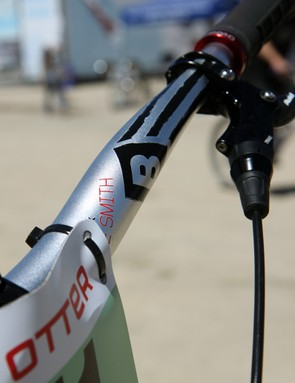 You, too, can get your own Truvativ BlackBox Athlete Series handlebar named after you - but you'll have to earn it first
