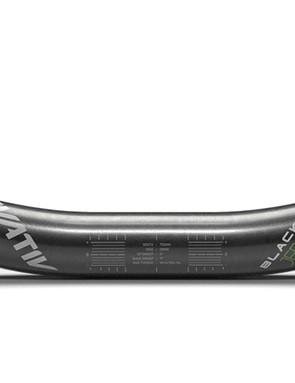 Jerome Clementz's signature Truvativ BlackBox handlebar gets a sleek carbon fiber finish with just a hint of green