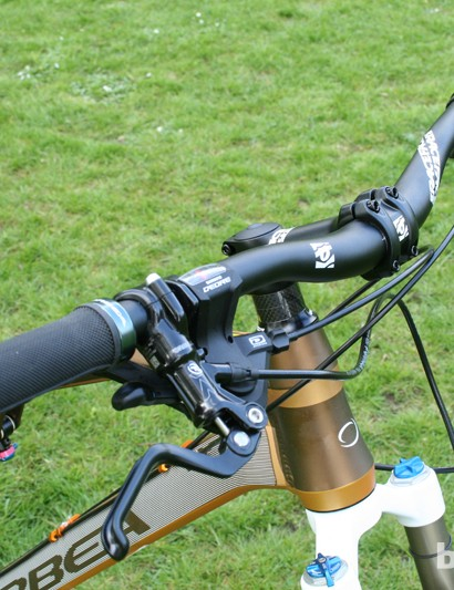 Cockpit includes Formula RX brakes and a RaceFace bar and stem