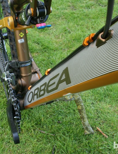 The finish of the Occam H30's frame is sublime