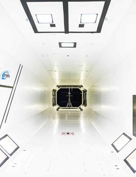 The CMEFE Hepia wind tunnel in Geneva