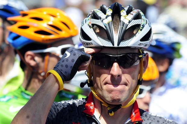 Lance Armstrong has a shady past as a dope cheat