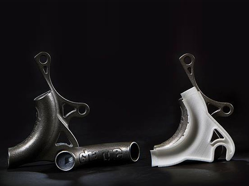 3D titanium printed dropouts are a world first