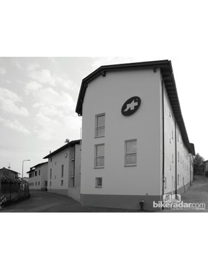 The main Assos office sits just across the street from the original apartment above which Tony Maier-Moussa started Assos with his wife and a sewer in 1976