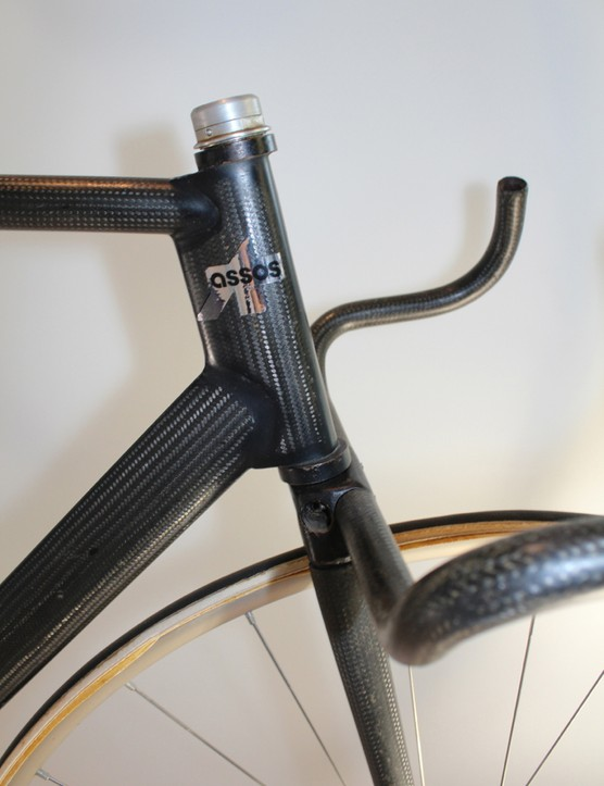 Carbon aero road bikes have become popular in recent years - Assos was building them in the '70s
