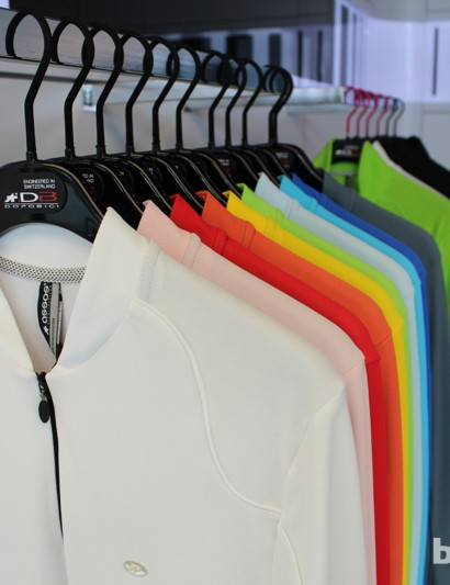 Graphics-wise, Assos doesn't go for much business, but the company has never been afraid of color
