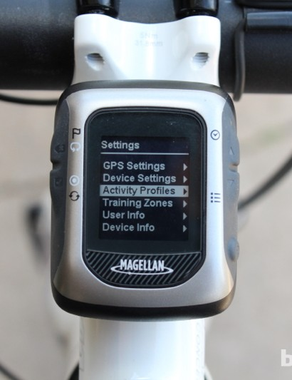The adjustable Activity Profile setting is a nice touch for those who do multiple types of workouts - be those riding and running or just training on the bike indoors and riding outdoors