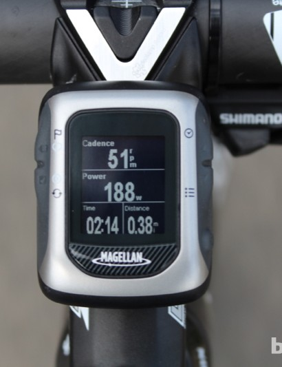 The Magellan Switch Up GPS cycle computer delivers a full suite of geographic and biometric information in a compact but heavily customizible format