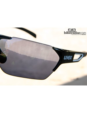 Photochromic 'Variomatic' lenses are featured on UVEX's top models to accommodate a broad range of lighting conditions without having to swap lenses