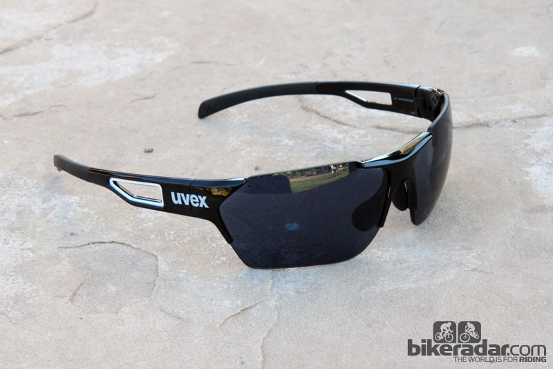 The new UVEX SGL 202 Vario Race sunglasses use a frameless design, like the Active Vario Shield but with stouter earpieces