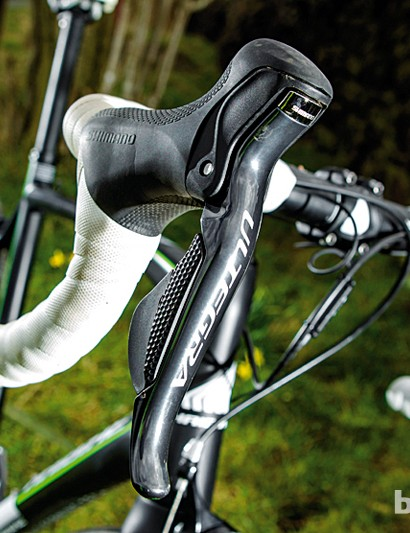 Ultegra Di2 levers but kit downgrades elsewhere