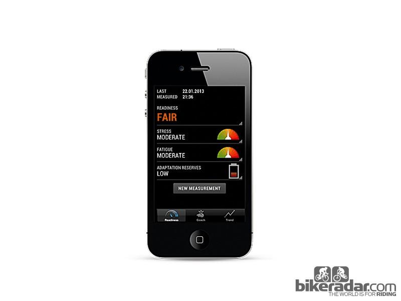 Omegawave ECG app
