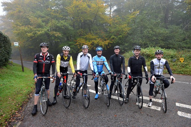 A likely bunch of MAMILs ready to tackle the route of the Prudential RideLondon Surrey 100