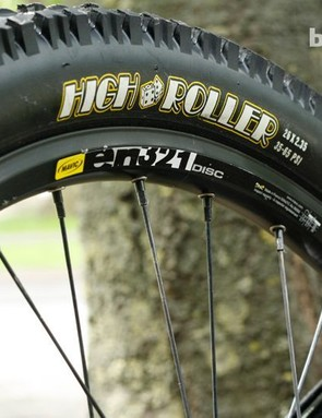 Maxxis tyres at both ends