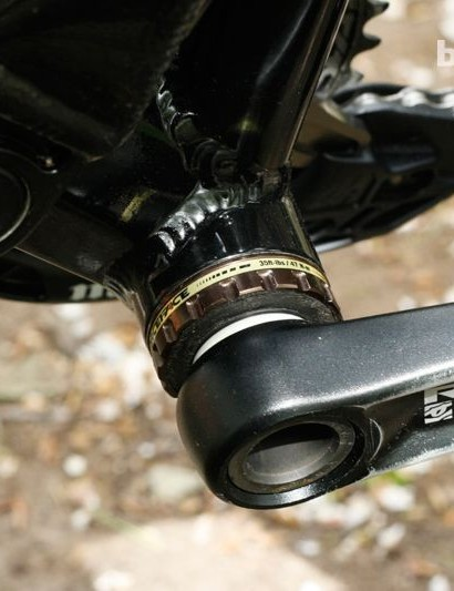 RaceFace's X-type takes care of the bottom bracket area