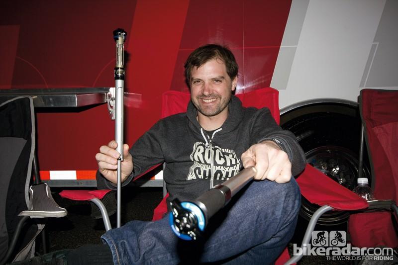 RockShox long travel product manager Jeremiah Boobar