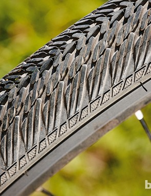 Though wide, the 35mm tyres are more suitable for on-road use than off-