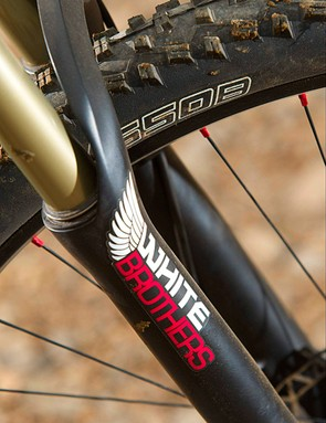 27.5in wheels enhance the smooth ride feel