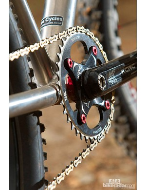 KCNC cranks and one ring – it's dedicated