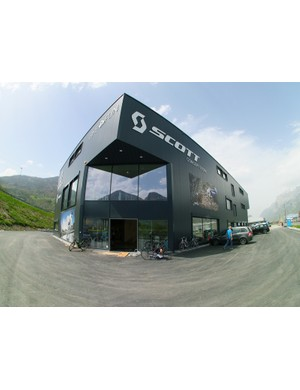 The new Scott Sports concept store will be based near Chur in Switzerland