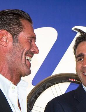 Cipollini and Indurain were Campagnolo riders