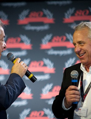 And even Greg LeMond - now the only American winner of the Tour de France without an asterisk next to his name - took the stage