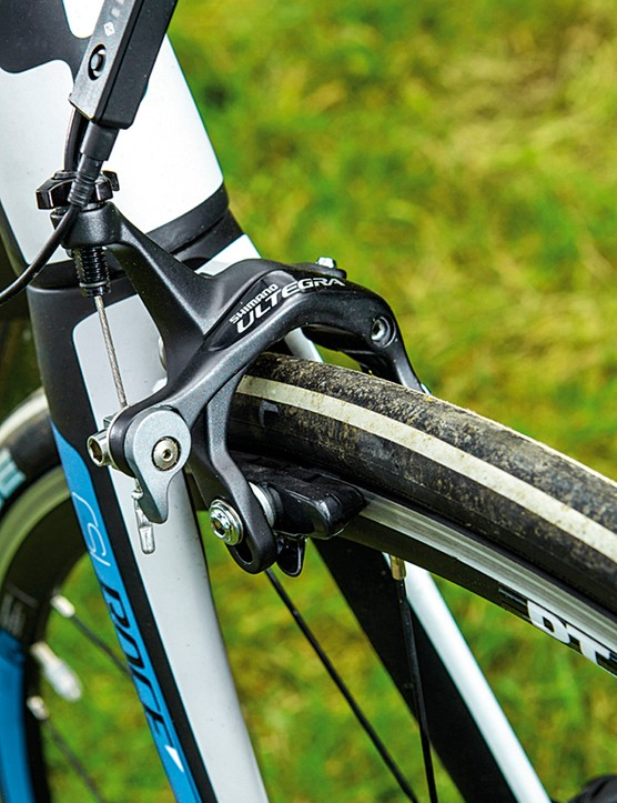 It's Ultegra throughout for Cube – no kit costcutting