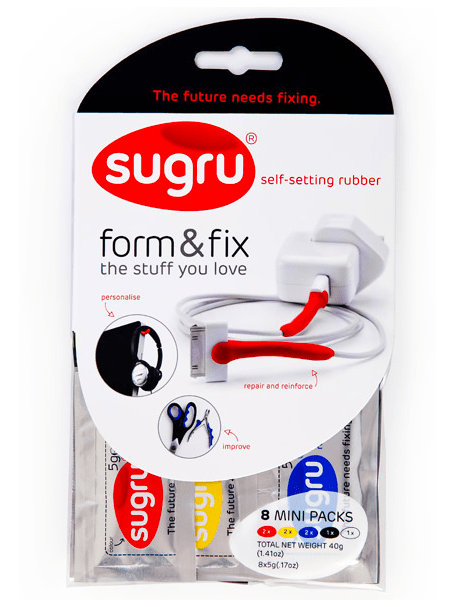 Sugru self-setting rubber
