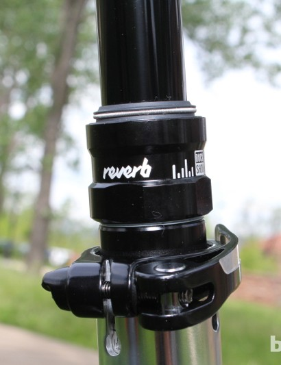 The RockShox Reverb dropper post comes on several of the Fuel EX 29 models