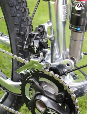 Direct mount front derailleur