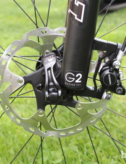 Trek claims its G2 geometry improves low-speed handling of 29in bikes