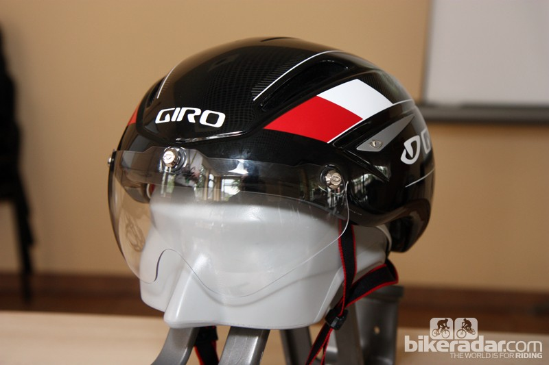 Cover your eyes! At least, that's what Giro R&D director Rob Wesson says if you want to boost your aerodynamic performance. A visor or shield-type glasses will work