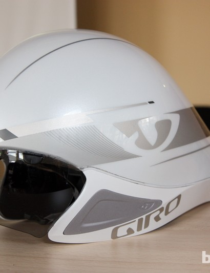 We're used to seeing shapes like this for time trials and triathlons but more of the visual cues will soon find their way into standard road helmets, too