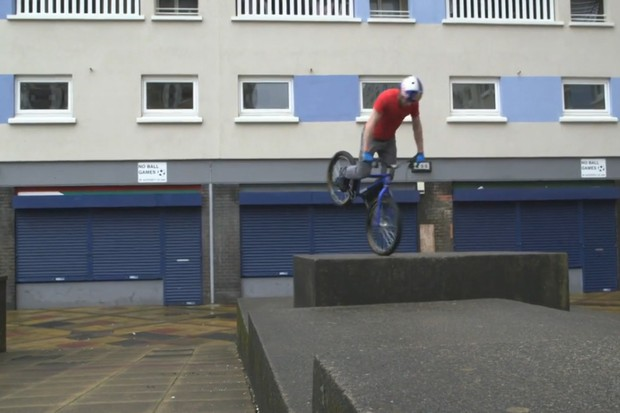 Danny MacAskill gets back to full time training in the latest Imaginate 'making of' video